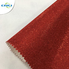 New zarina glitter leather fabric for shoes and bags