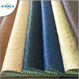 Strong Teal Faux Leather Material Rolls Padded Comfortable Touching Feeling