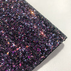 54/55' Wallpaper 3D Holographic Chunky Glitter Fabric