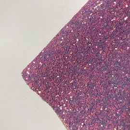 1.4mm 3D Holographic Wallpaper Metallic Chunky Glitter Fabric