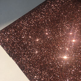 Artificial Leather Fireproof 50m/Roll Chunky Glitter Fabric