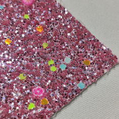 Shoes Abrasion Resistant 0.7mm 54/55' Chunky Glitter Fabric