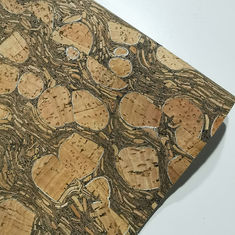 Eco-friendly coffee Natural carbonized Cork Fabric for bag wallet