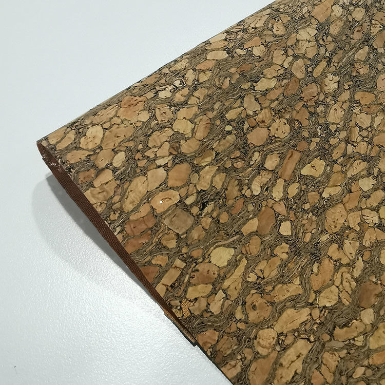 Eco-friendly Portugal recyclable Natural carbonized Cork Fabric for bag wallet